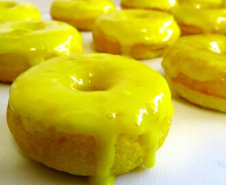 HOW TO MAKE LEMON DONUTS