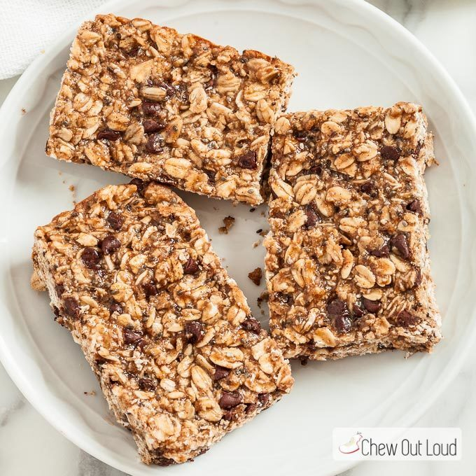 Protein Granola Energy Bars (+$100 Giveaway)