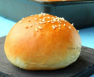Perfect Hamburger Buns | Ladi Pav Buns | Soft Dinner Rolls from scratch