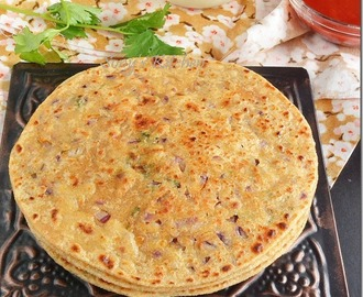 Sev Paratha – Easy Paratha recipe