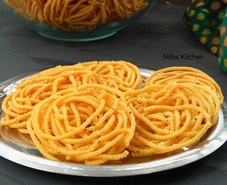 Pottukadalai Murukku (Dalia Chakli) Using Rice Batter with Video | The Traditional Way