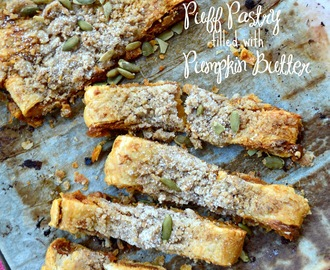 Pumpkin Puff Pastry Kringle with Streusel