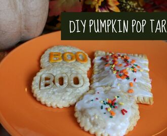 Homemade Pumpkin Pop Tarts