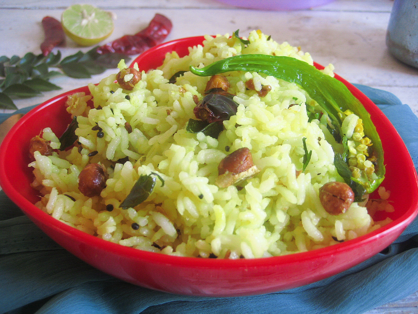 Lemon rice / Nimmakaya annam
