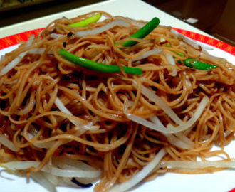 Pan-Fried Hong Kong Noodles - Chinese New Year