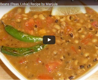 Lobia Curry Recipe Video