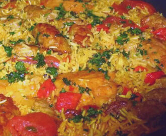 Rice is Nice - My Recipe Rotation - Arroz Con Pollo