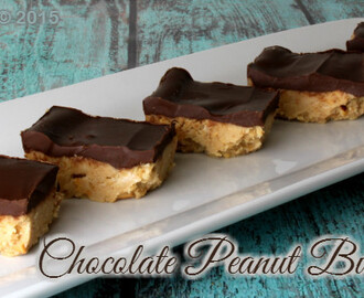 Chocolate Peanut Butter Bars to Kick Off #Chocotoberfest, PLUS a $350 Chocolate Give Away!