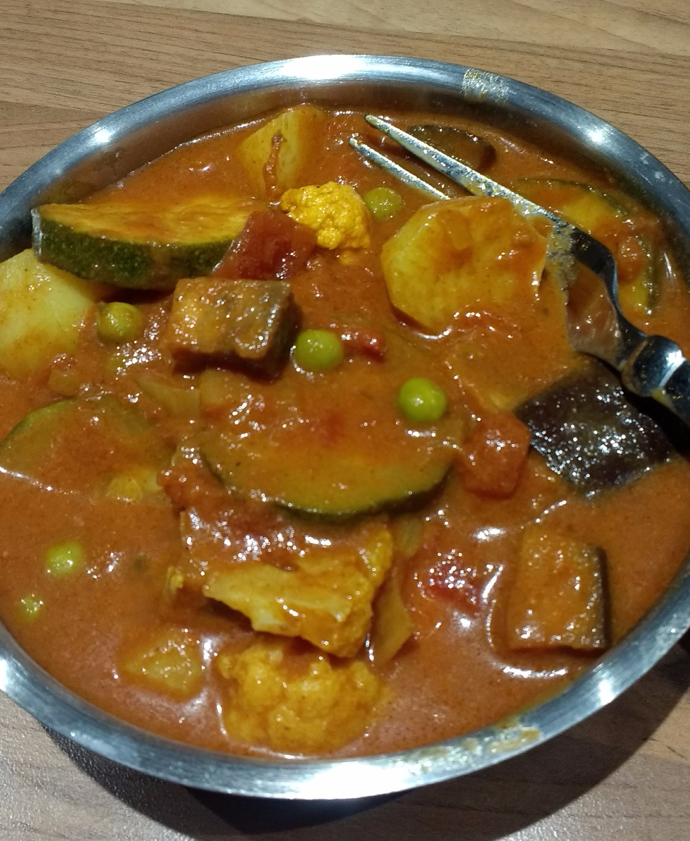 Persian Vegetable Curry