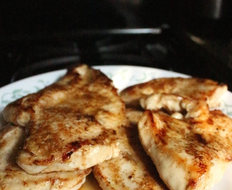 Spice Rubbed Chicken Cutlets