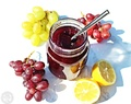Easy Grape Jam – 3 ingredients & no pectin!