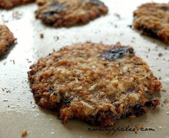 Carob Chip Coconut Cookies (AIP)