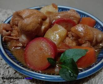 Make Chicken Caldereta Using Fresh Tomatoes