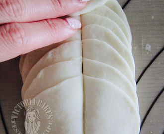 honey flower mantou (steam bun) 花花世界花馒头