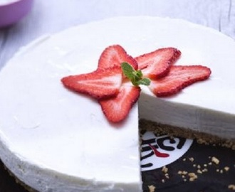 Cheesecake light yogurt e vaniglia