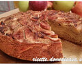 Apple pie with buckwheat and cinnamon