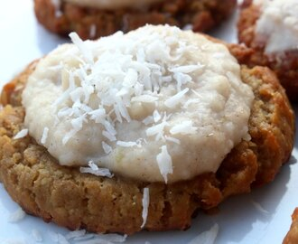 Frosted Banana Crunch AIP Cookies (Guest Post from Gabriella of Beyond the Bite)