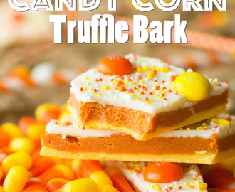 Candy Corn Truffle Bark