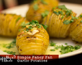 Simple Fancy Fan Garlic Potatoes