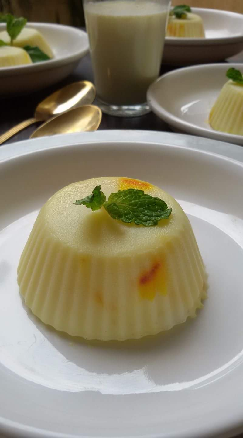 Saffron Milk Pudding