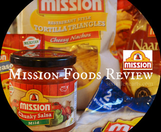 Mission Foods Review - Have You Tried Red Quinoa and Chia Wraps?