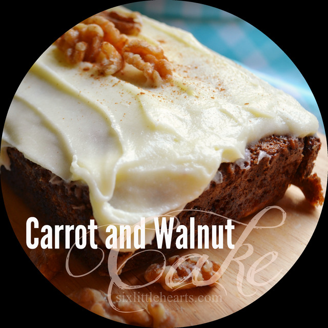 Carrot and Walnut Cake Recipe (Sneaky Ways to Serve Vegetables!)