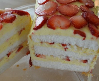 Easy No Bake Dessert: Strawberry Creme Cake
