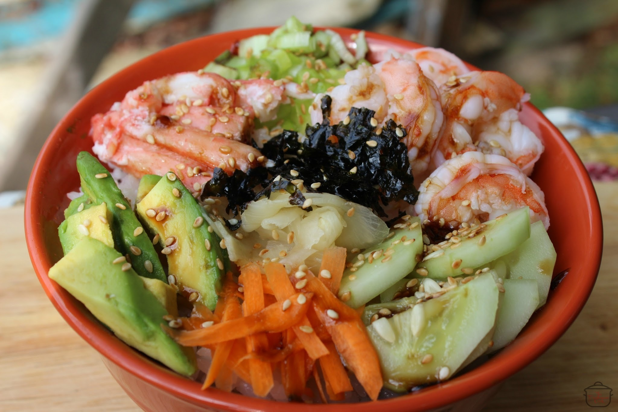 Sushi Roll Rice Bowl / #SundaySupper