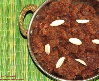Shinghare ke Atta ka Halwa (Halva with Water Chestnut Flour) – Navratri Vrat Recipe – Guest Post by Heena Jhanglani