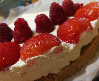 Torta Fredda Allo Yogurt Light