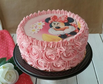 """TARTA MINNIE MOUSSE"""