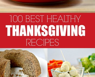 100 Best Healthy Thanksgiving Recipes
