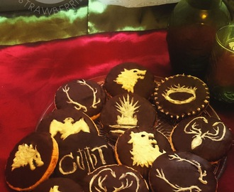Game of Thrones inspired sugar cookies