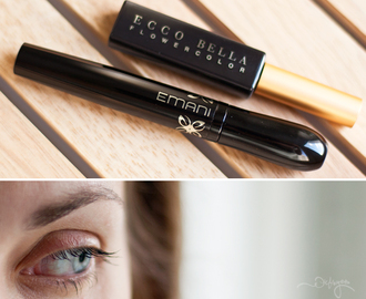 Этичная тушь: Ecco Bella FlowerColor VS Emani Soy Mascara