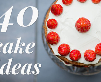 Turn Birthday Cake Into A Happy Birthday Cake- 40 Cake Decoration Ideas