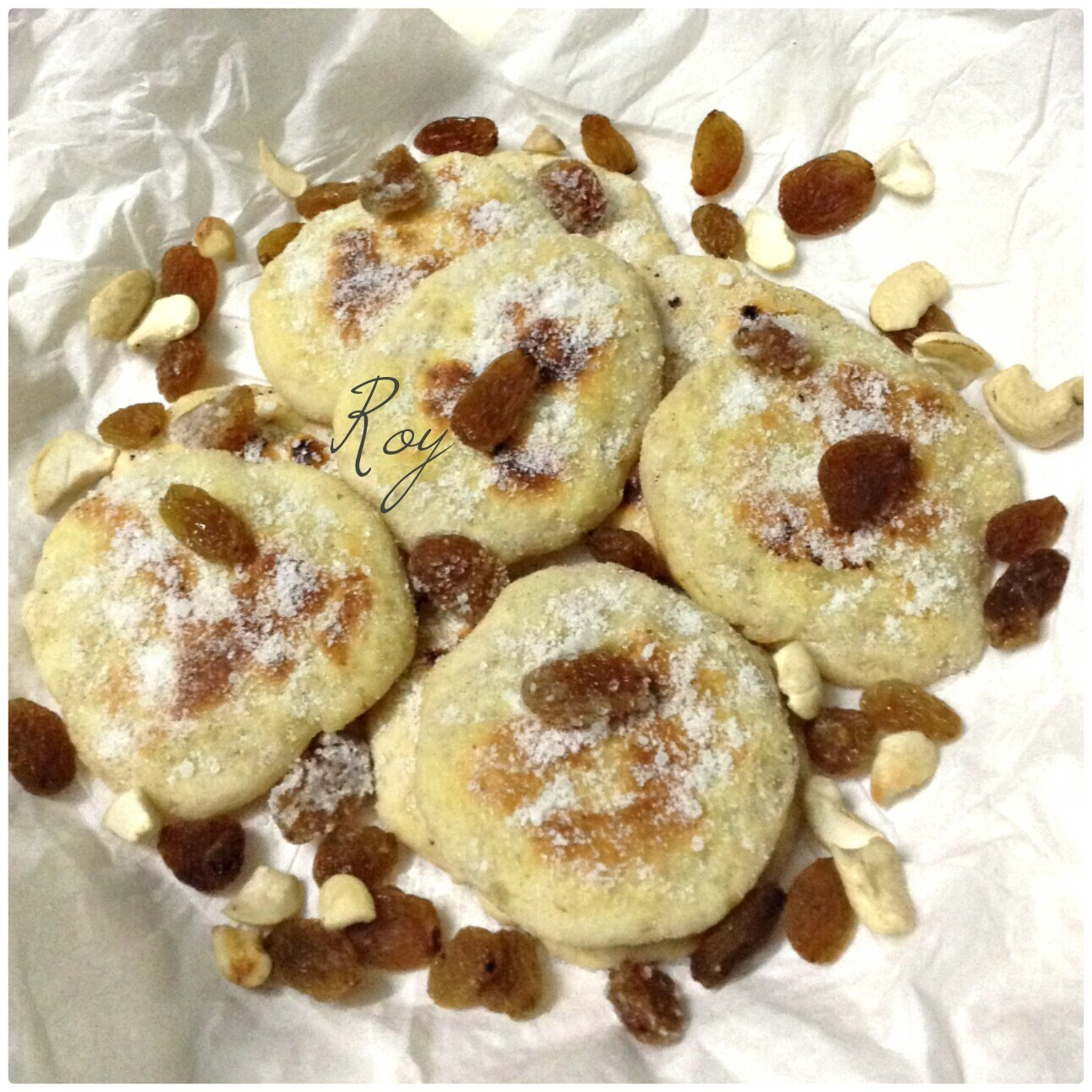 Vanilla cookies/Tea Cake on a skillet/Pan (No bake/No Oven) Recipe