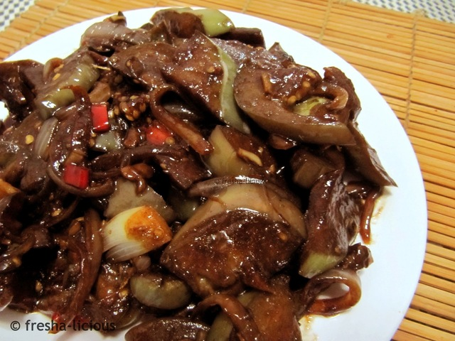 Sautéed Eggplant – Chinese Inspired
