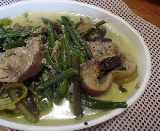Ginataang Hito / Catfish with Coconut Milk