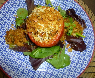 Baked Stuffed Tomatoes with a Parmesan Crumb Recipe – spaulyseasonalservings