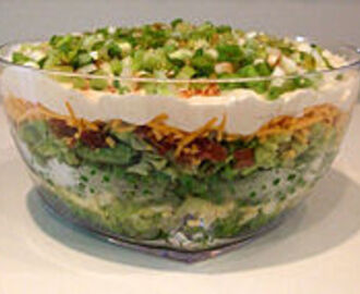 One of America's Favorites - 7 Layer Salad