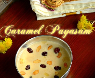 Easy Caramel Rice Kheer - கேரமல் பாயசம் - Tamil New Year / Vishu  Special - Step by Step