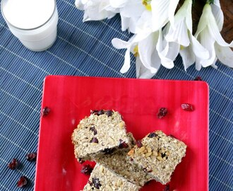Banana Oat Bars – Flourless Breakfast Bars