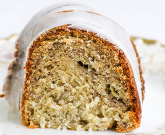 Banana Coconut Lime Bundt Cake  #SundaySupper