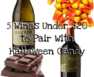 5 Wines to Pair with Halloween Candy + a GIVEAWAY