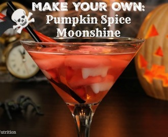 Make Your Own Pumpkin Pie Infused Moonshine