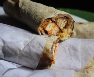 Tandoori Chicken Wrap Recipe