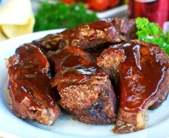 Crock Pot Dr Pepper Ribs