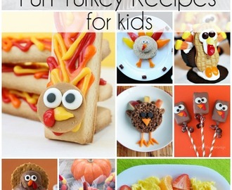 Kids Turkey Recipes | Turkey Treats for Thanksgiving Day