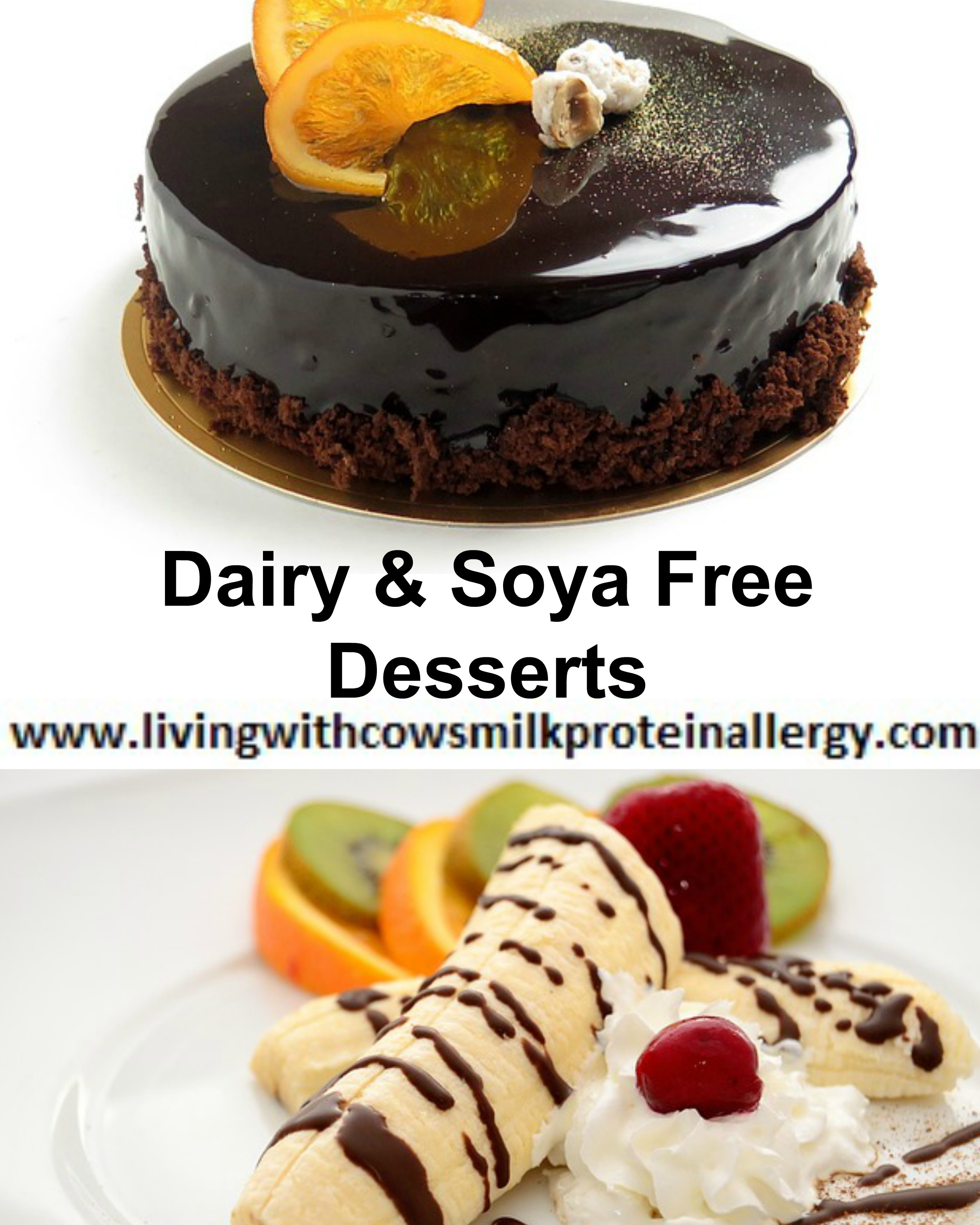 Dairy & Soya Free Desserts & Puddings Available To Buy – UK