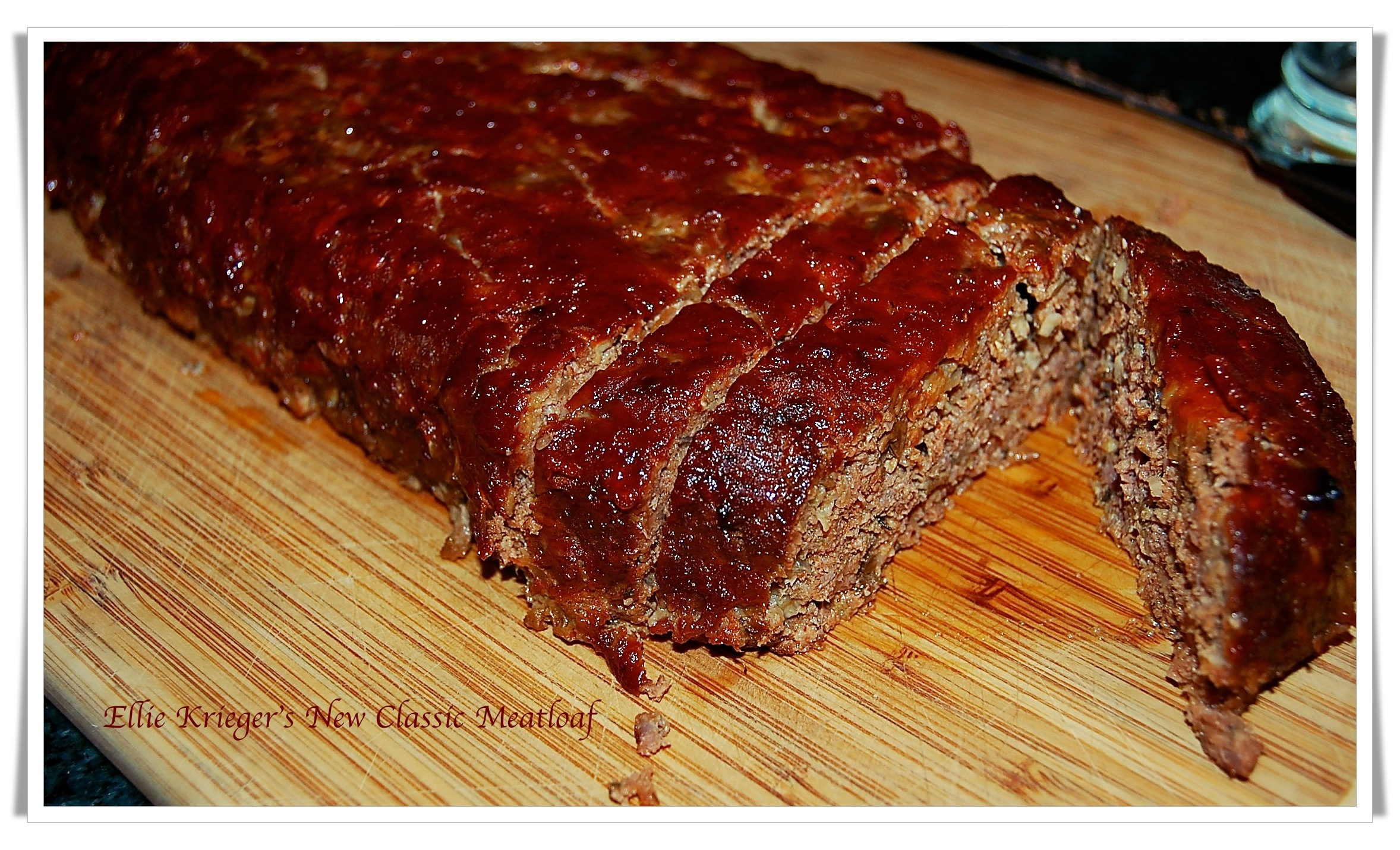 Any Day Special Meatloaf adapted from Ellie Krieger